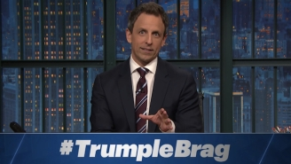 Seth Meyers Adds '#TrumpleBrag' To The Lexicon In His Breakdown Of The Trump/FOX News Feud