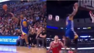 Leandro Barbosa And Andre Iguodala Might Have Pulled Off The Season's Best Alley-Oop