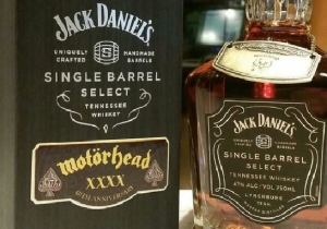Jack Daniel's Honored Lemmy With A Motörhead Signature Whiskey