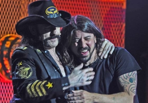 Dave Grohl Closed Out Lemmy's Memorial With A Stirring Eulogy To His 'Hero'