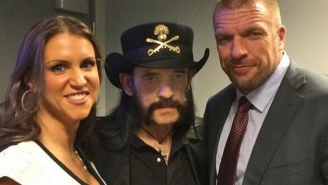 Triple H's Emotional Speech At Lemmy's Memorial Explains 'The Most Kick-Ass Thing Of All-Time'