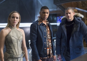 Let's talk about what just happened on 'Legends of Tomorrow'