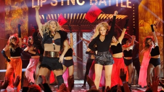 Beyonce gives Channing Tatum an assist on 'Lip Sync Battle'