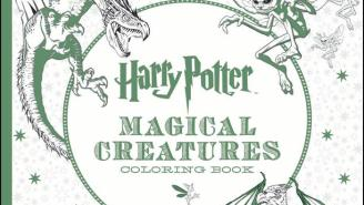 Get Your Crayons Out, Because The Second 'Harry Potter' Adult Coloring Book Has Hit Stores