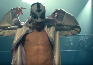 'The Masked Saint' Is A Kinder, Gentler Faith-Based Film, About A Christian Pro-Wrestling Vigilante