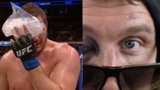 Matt Mitrione Appeals His Eye-Poke-Filled Loss To Travis Browne Due To Ref Errors