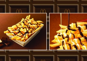 Would You Eat Fries Drizzled With Chocolate? McDonald's Hopes So