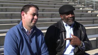 'Mean Joe' Greene Reunited With The Kid From His Famous Super Bowl Commercial, And It Was Heartwarming