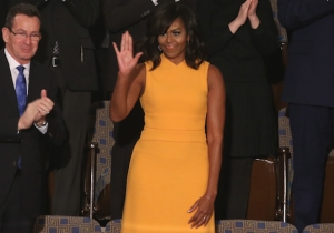 Of Course Michelle Obama's SOTU Dress Is Sold Out, But Here's Where You Can Buy It Online