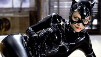 Catwoman now looks like Michelle Pfeiffer, completing the circle of art imitating life