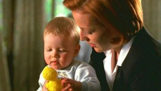 Here's Mulder and Scully's baby all grown up