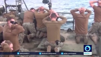 Tense Video Footage Shows The Moment Iran Took U.S. Navy Sailors Into Custody
