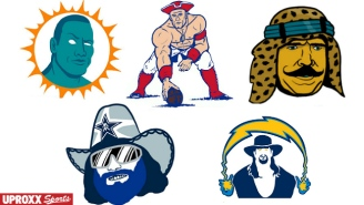 Let's Reimagine All 32 NFL Logos As Professional Wrestlers