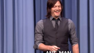 Norman Reedus Faces Off Against Danny DeVito And Khloé Kardashian In Charades