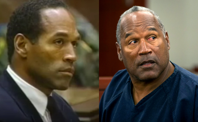OJ Simpson then and now