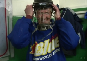 This 89-Year-Old Kicking Butt In Hockey Will Give You Hope For The Future