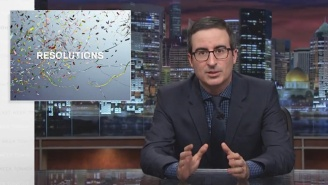 John Oliver Is Here To Help You Revise Those New Year's Resolutions You've Already Failed To Keep