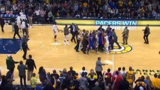 The Pacers And Pistons Almost Came To Blows After Their Game