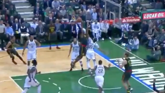 Paul Millsap Absolutely Posterized John Henson With This One-Handed Tomahawk Jam