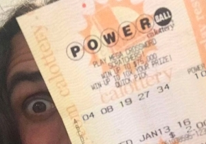 Is This Guy Really Holding The $1.5 Billion Winning Powerball Ticket?