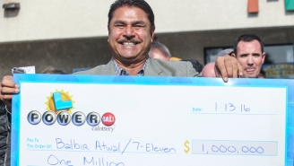 Jimmy Kimmel Introduces The World To A Clerk Who Sold A Winning Powerball Ticket