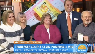 This Guy On 'Today' Claims To Have The Winning Powerball Ticket Sitting Right In His Pocket