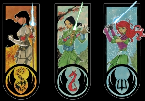 'Once Upon a Time, in a Galaxy Far, Far Away' imagines Disney Princesses as Jedi