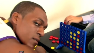 Rajon Rondo Is Still A Cold-Blooded Connect Four Killer