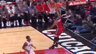 How Did Ramon Sessions Blow This Wide Open Dunk?