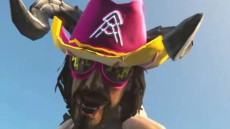 Watch A Deathclaw Macho Man Randy Savage Take On Hulk Hogan In Your New Favorite 'Fallout 4' Mod