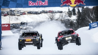 A Truck Race In The Snow On A Maine Ski Mountain Is A Thing That Is Happening