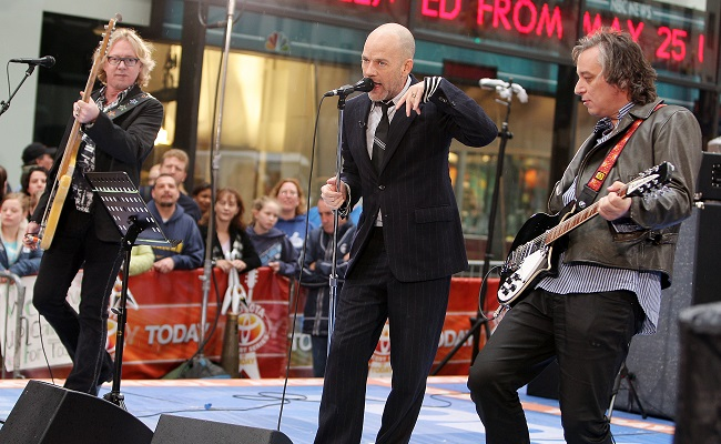 "R.E.M. Performs On NBC's ""Today"" Show"