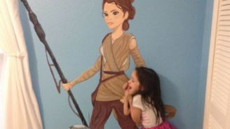 This Mom's Awesome 'Star Wars' Mural Is Taking Over The Internet