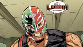 Get Somehow Even More Hype With The First Issue Of The Lucha Underground Comic Book