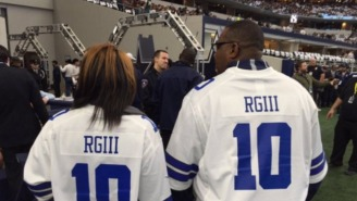 Robert Griffin III's Aunt And Uncle Wore Cowboys RG3 Jerseys [Update]