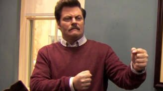 Curious Who Ron Swanson Would Vote For? Nick Offerman Has A Hunch