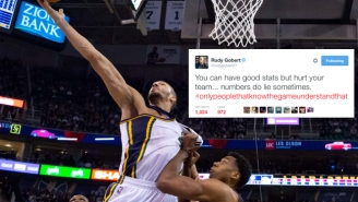 Rudy Gobert Subtweets A Stats-Only Player And Nikola Vucevic Jokingly Takes Offense