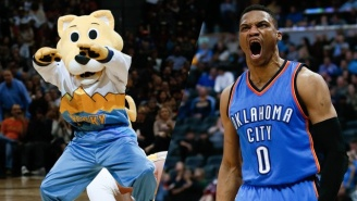Russell Westbrook's Feud With The Denver Nuggets' Mascot Continues
