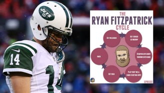 Jets Fans Should Beware Of The Deadly 'Ryan Fitzpatrick Cycle,' Because It's Coming For Them