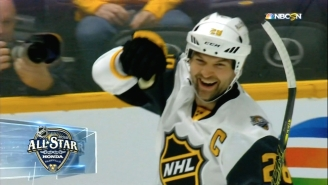 John Scott Gives The Ultimate F-You To The NHL By Scoring And Fighting In The All-Star Game