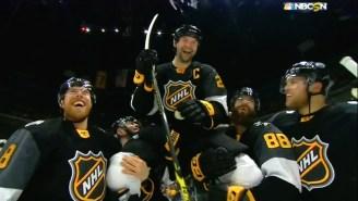 John Scott Got The 'Rudy' Treatment And Won NHL All-Star Game MVP