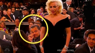 People Have Strong Opinions Over Leonardo DiCaprio's Golden Globes Stink Eye At Lady Gaga