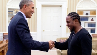 Kendrick Lamar Says President Obama Changed Hip-Hop's History By Embracing Rap So Strongly