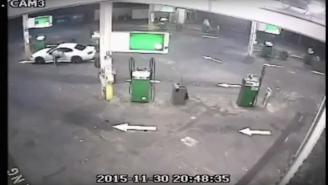 Watch This Man 'Ninja Kick' A Guy Who Tries To Steal His Car