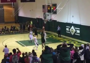 You've Never Seen A Buzzer-Beater Like This Before