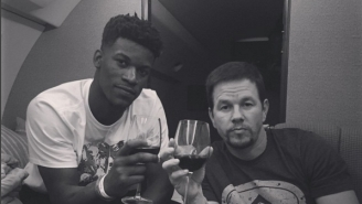 Jimmy Butler And Mark Wahlberg Are Best Friends Now And That's Totally Not Confusing