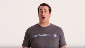 Rob Riggle And Joel McHale Explain Why It's Okay To Hop On Another Team's Bandwagon