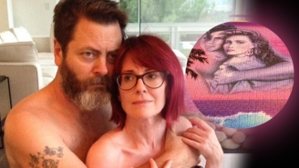 Conan Highlights The Adorable Puzzle Prowess Of Nick Offerman And Megan Mullally