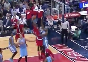 Bradley Beal Tried To Dunk On Kenneth Faried, And It All Went Horribly Wrong