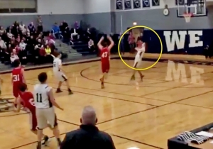 Watch This Middle Schooler Win A League Championship With A Three-Quarter-Court Buzzer-Beater